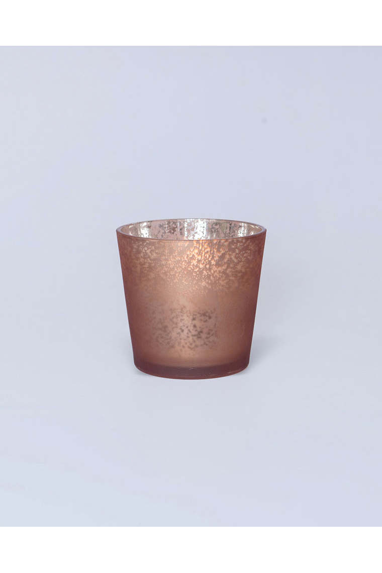 Copper Mercury Vase/ Candle Holder