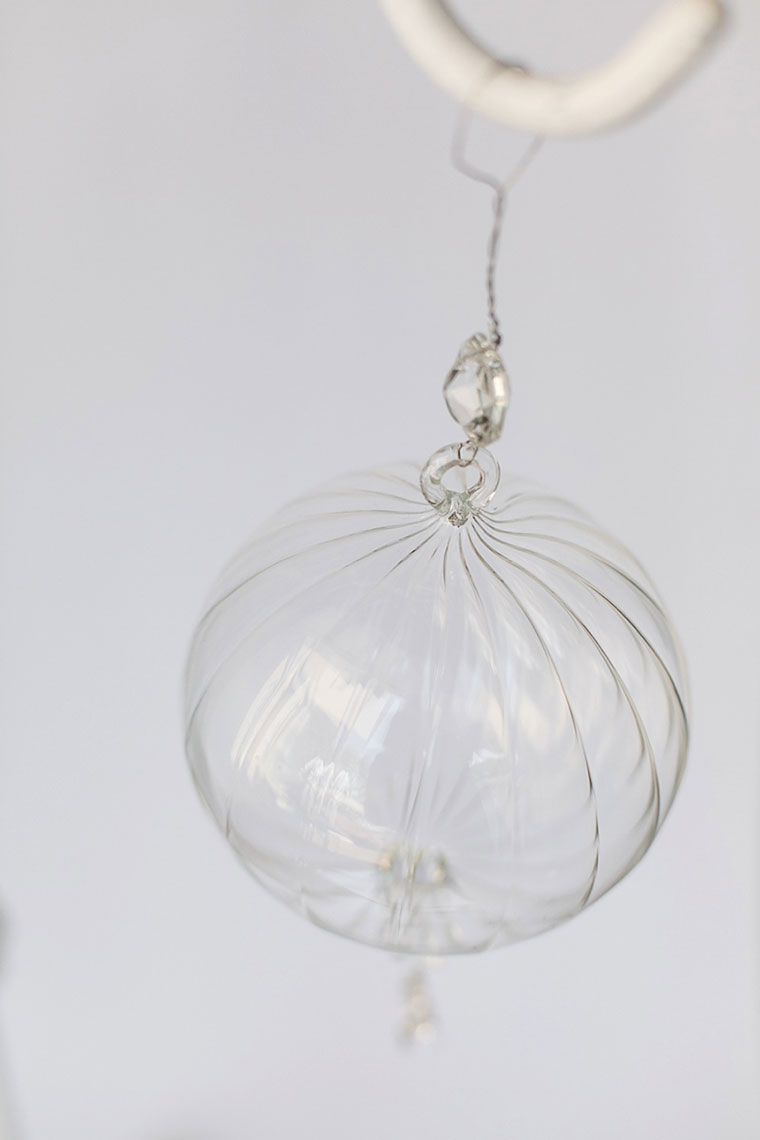 Large Glass Hanging Ball