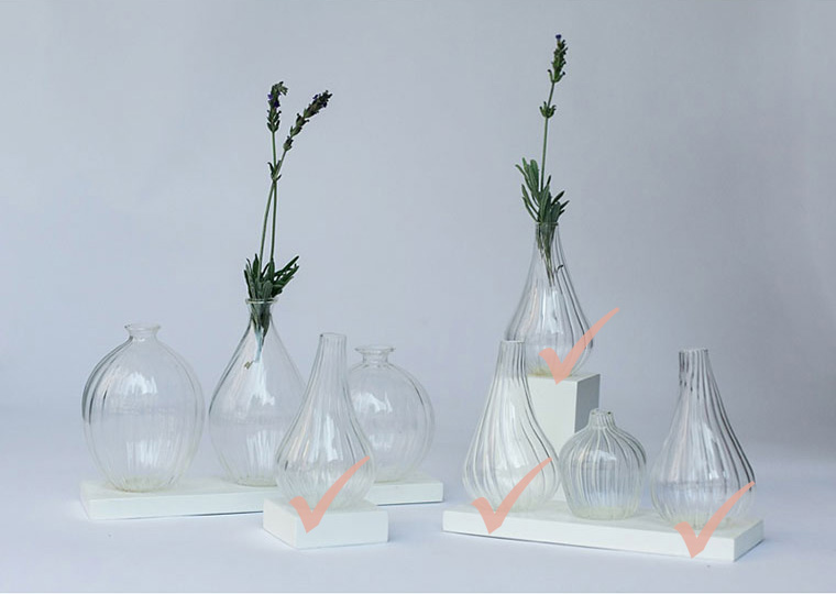 Small Onion Vases With Stand