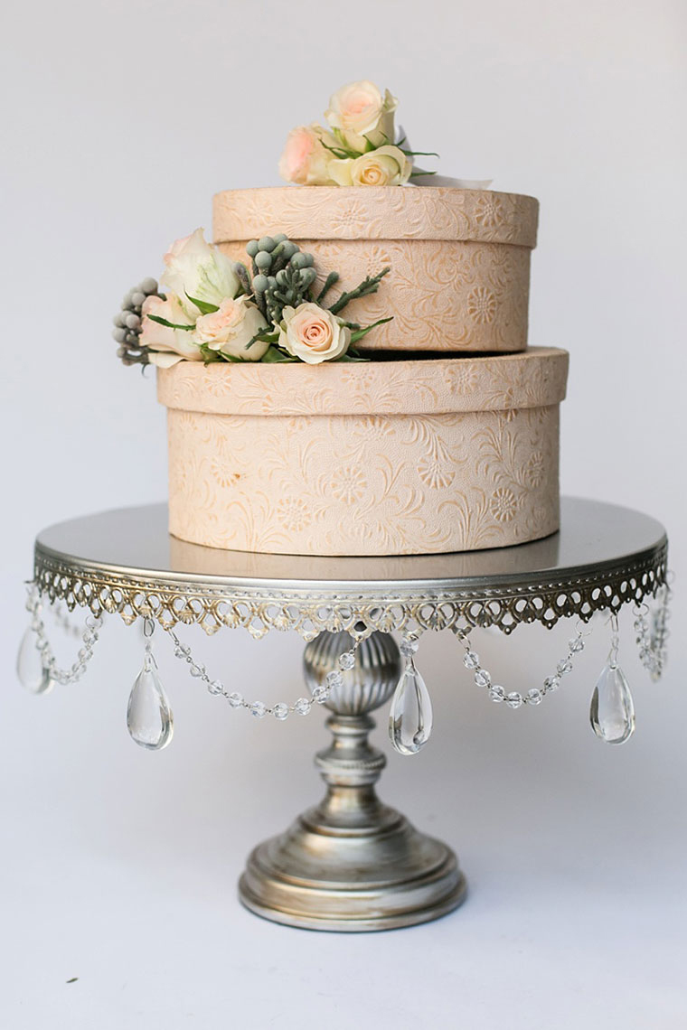 Silver And Crystal Cake Stand