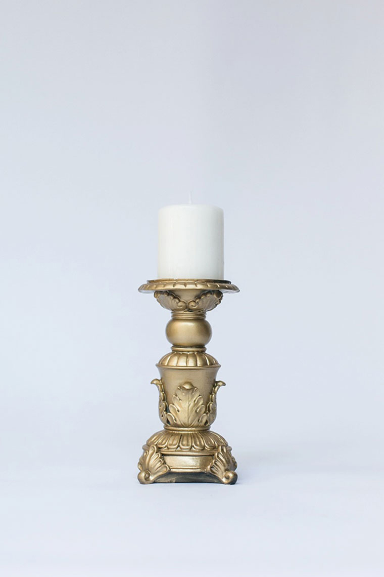 Small Resin Candlestick