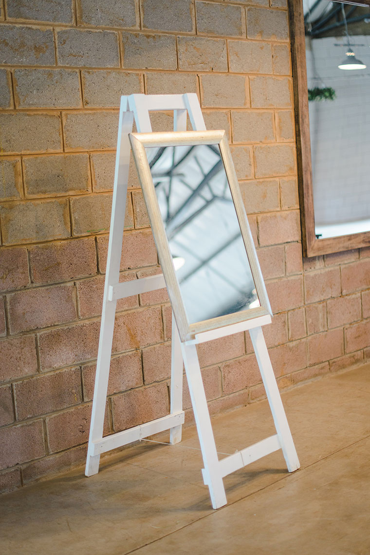 White Easel With Lower Ledge