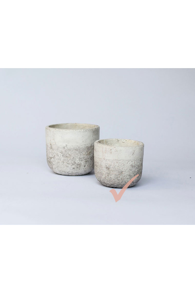 Small Two Tone Pots